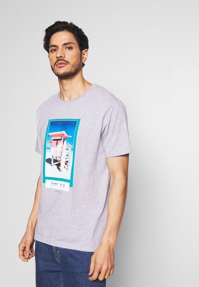 MANTENO - T-shirt con stampa - paloma