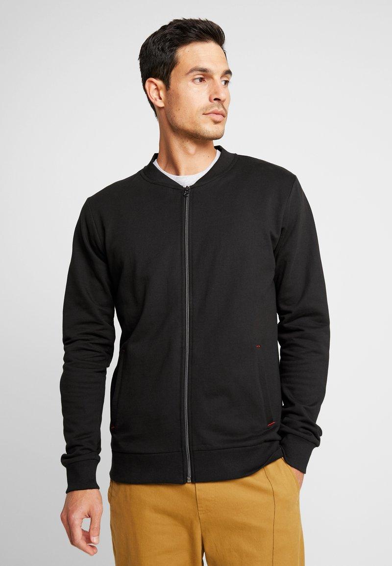 Tiffosi - ANGUS - Zip-up hoodie - black
