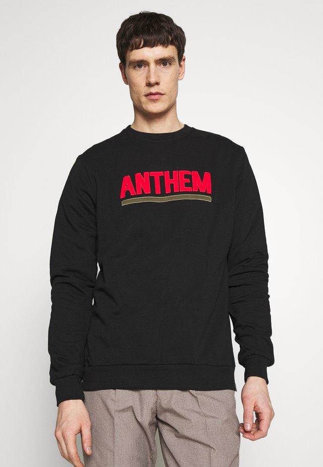 AMAETHON - Collegepaita - black