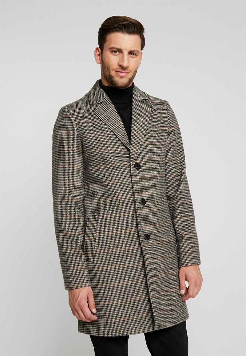 Tiffosi - FINLEY - Halflange jas - beige/black