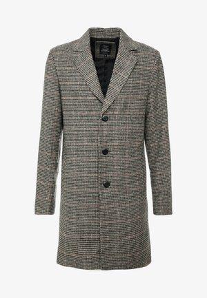 FINLEY - Halflange jas - beige/black