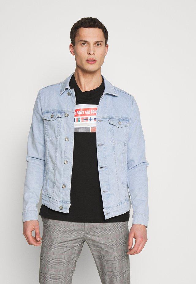 PEGU - Giacca di jeans - light blue