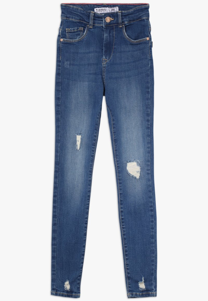 Tiffosi - EMMA - Skinny džíny - blue denim