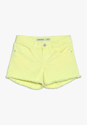 Jeans Short / cowboy shorts - amarelo