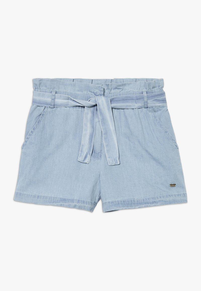 Tiffosi - CORINE - Shorts - denim light indigo wash