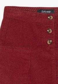 Tiffosi - MARY - Áčková sukně - vermelho - 2