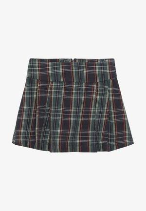 STRASS - Mini skirt - azul