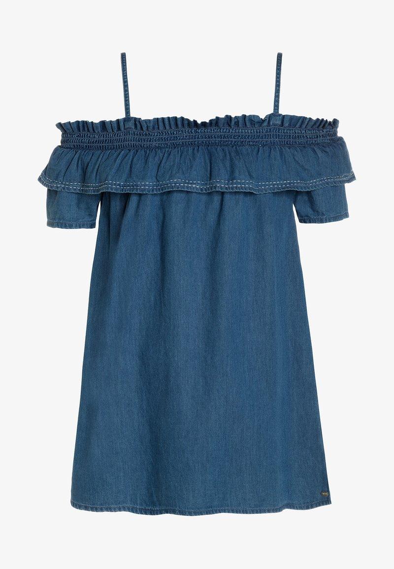 Tiffosi - POPPY - Jeanskjole / cowboykjoler - blue denim