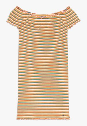 INDIRA - Jersey dress - yellow