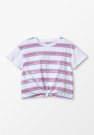 CHISLAIA - Camiseta estampada - branco