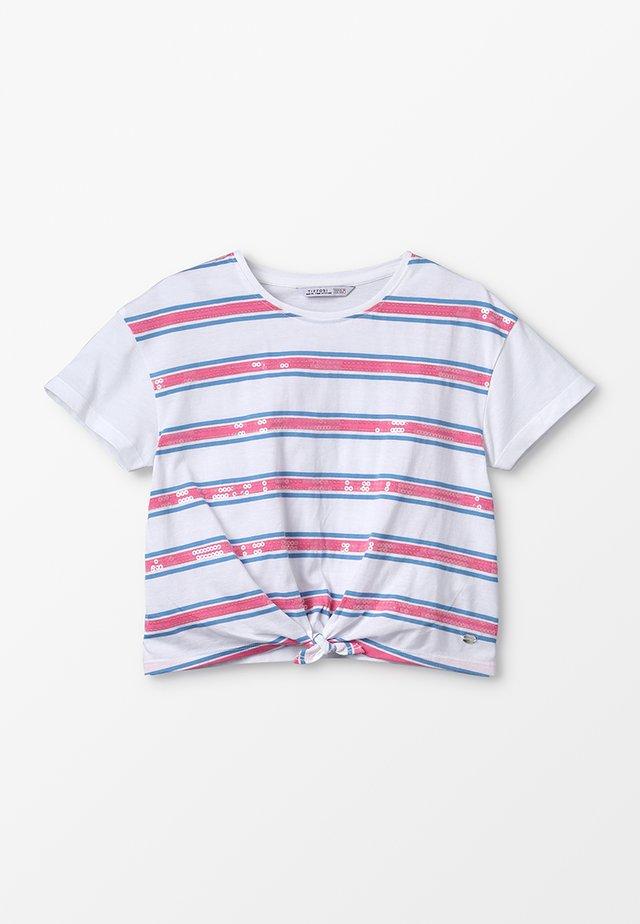 CHISLAIA - T-Shirt print - branco