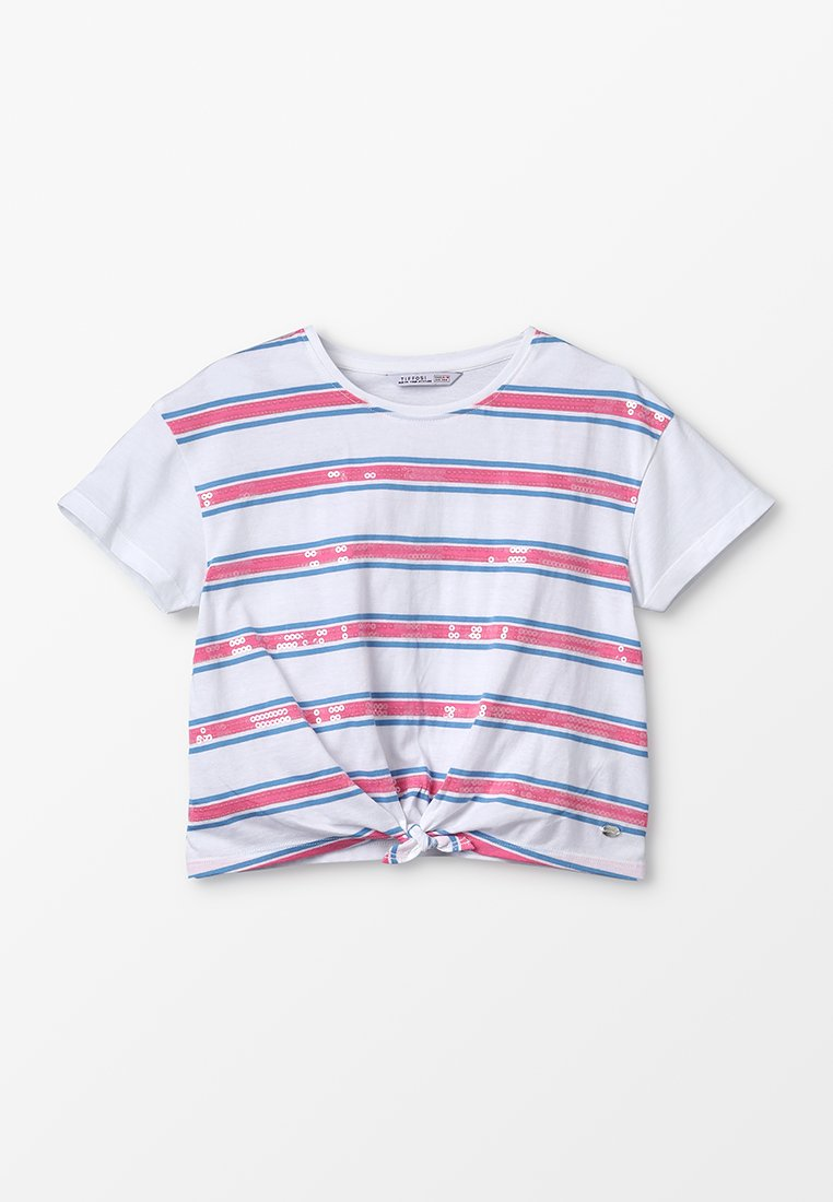 Tiffosi - CHISLAIA - Print T-shirt - branco