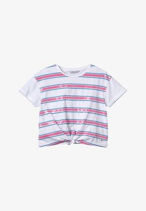 CHISLAIA - Print T-shirt - branco