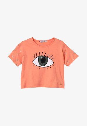COAGU - Print T-shirt - laranja