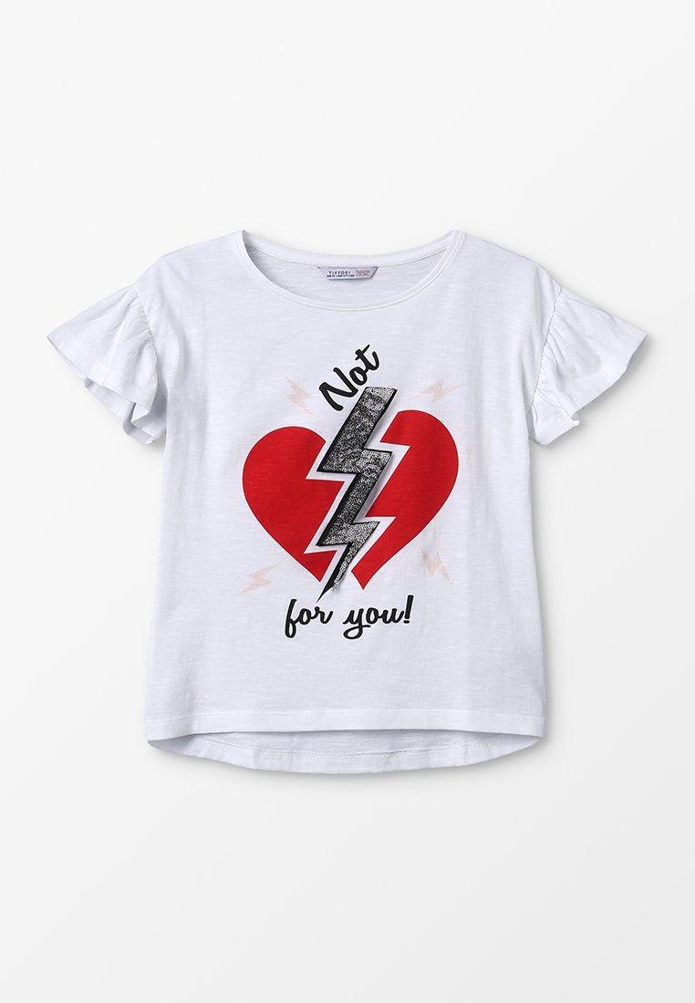 Tiffosi - LICHIA - Camiseta estampada - branco