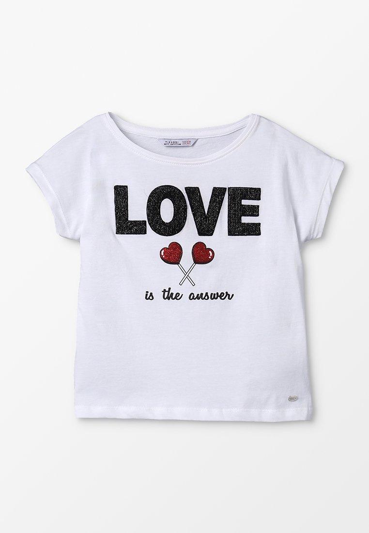 Tiffosi - ARNEHM - T-Shirt print - branco