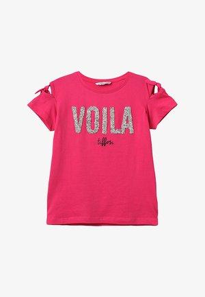 RIVIERA - T-Shirt print - rosa