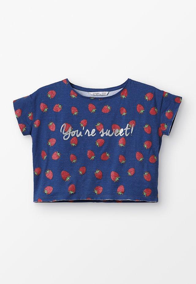 MINT - T-shirt med print - azul