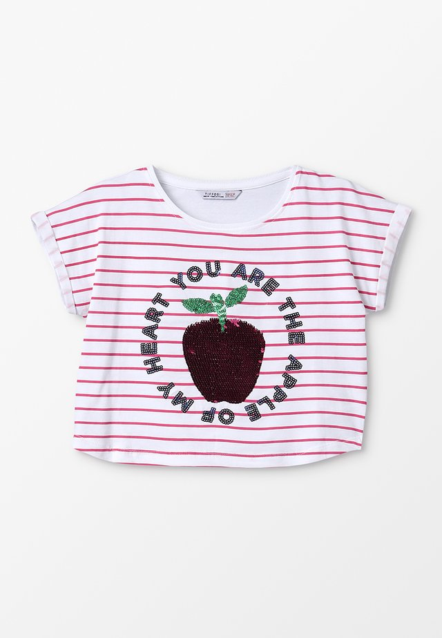 MARNI - T-Shirt print -  rosa