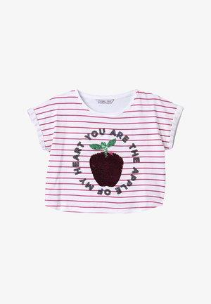 MARNI - Camiseta estampada -  rosa