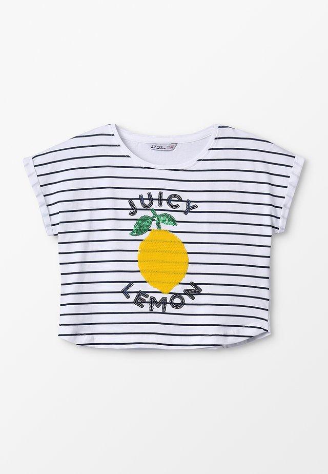 MARNI - Camiseta estampada - verde
