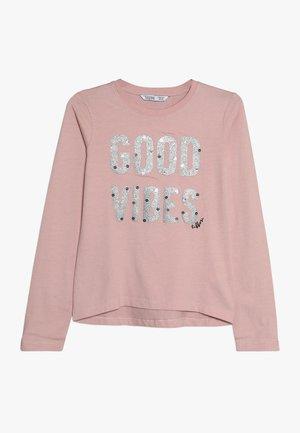 AURORA - Topper langermet - rosa