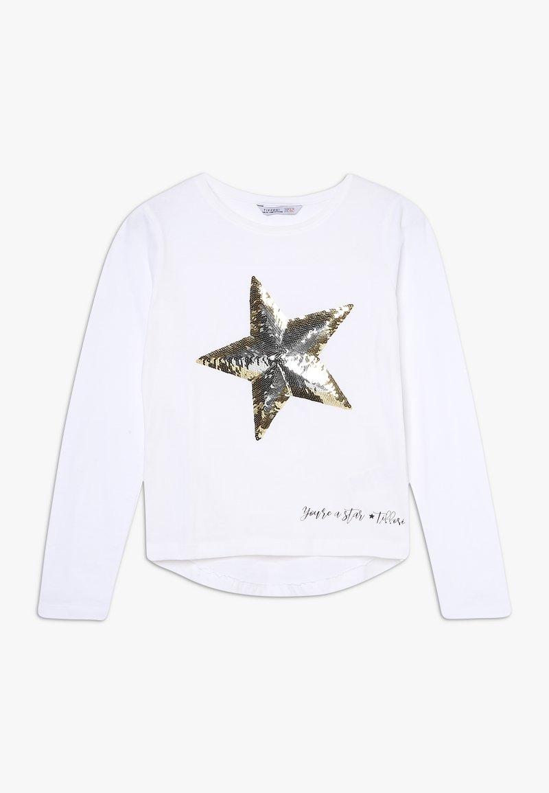 Tiffosi - Camiseta de manga larga - bege