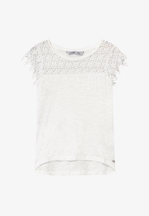 LORTTY - Print T-shirt - white