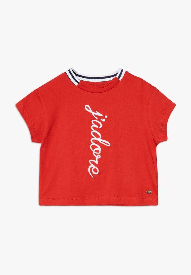 ALEXANDRIA - Camiseta estampada - red