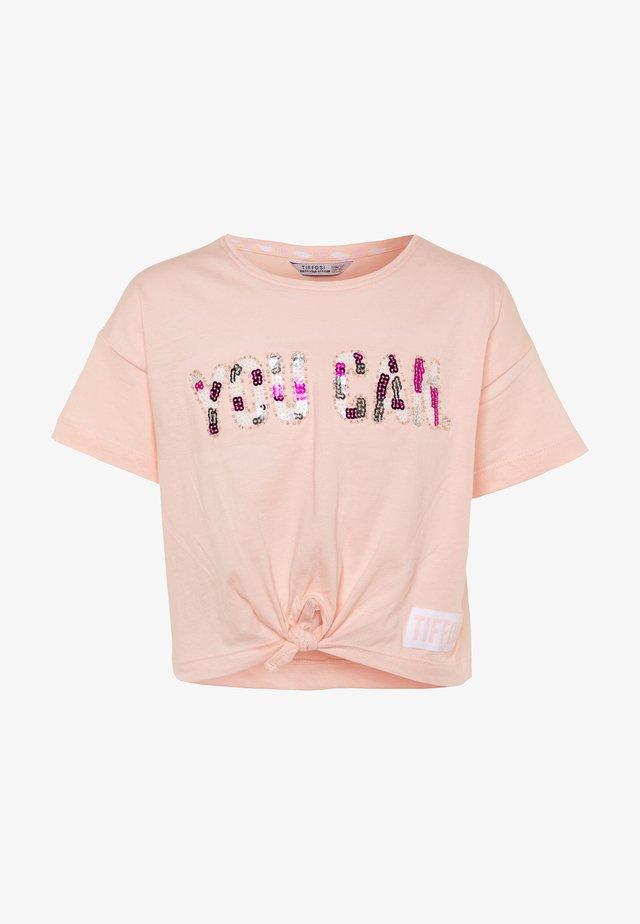 EMEE - Print T-shirt - pink