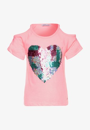 MALDIVES - Print T-shirt - pink fluor