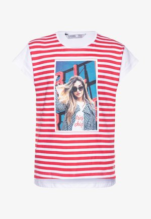 EMILY - T-shirt con stampa - red