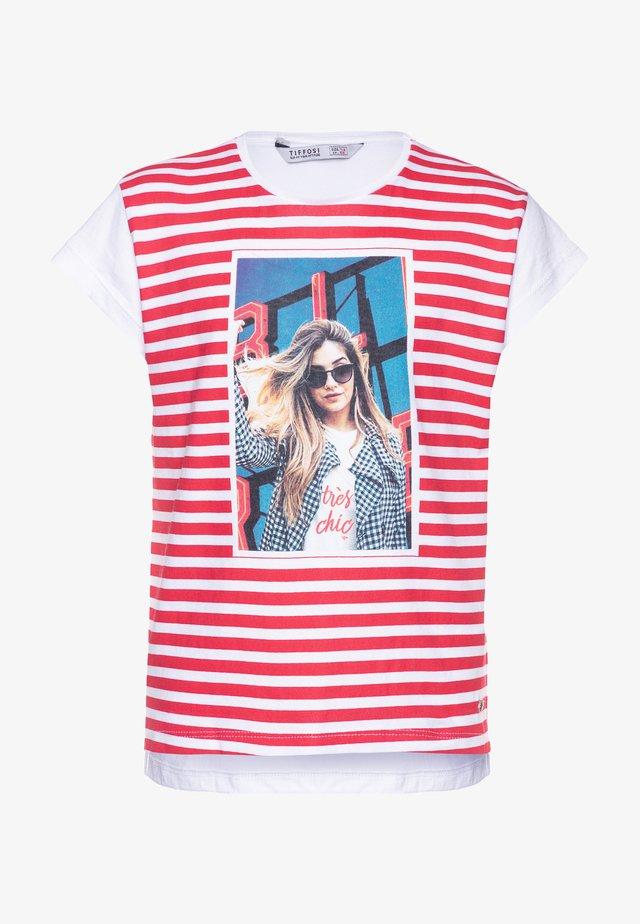 EMILY - Camiseta estampada - red