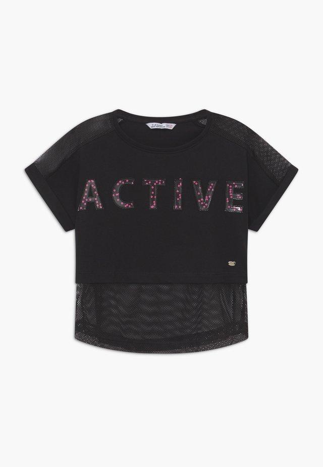 AMAL - Camiseta estampada - black