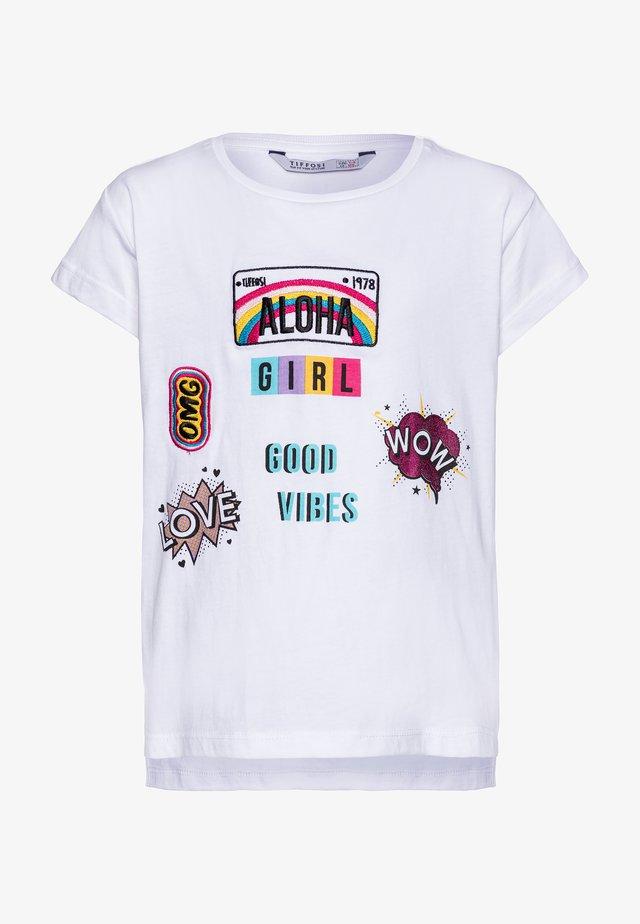 ANKARA - Camiseta estampada - white