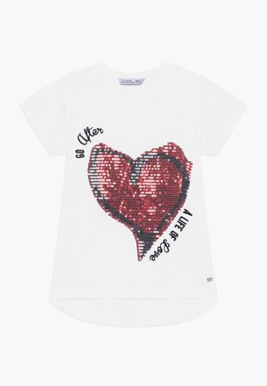 CLEO - Camiseta estampada - white