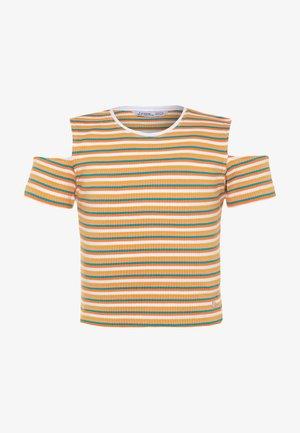 BADALONA - T-shirt print - yellow