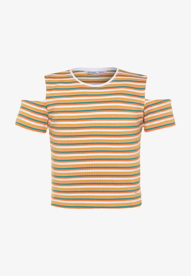 BADALONA - T-shirt con stampa - yellow