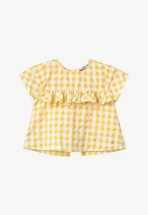 CLOVES - Bluser - amarelo