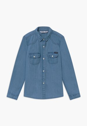 Blusa - denim light indigo wash