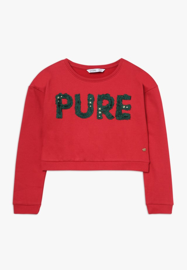 SOFT - Sweatshirt - vermelho