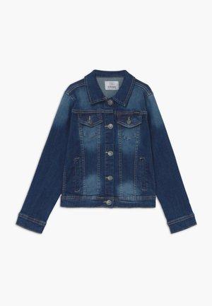 ELIS JACKET - Denim jacket - denim medium indigo wash