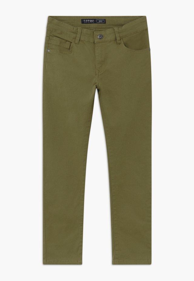 JOHN - Jeans slim fit - green