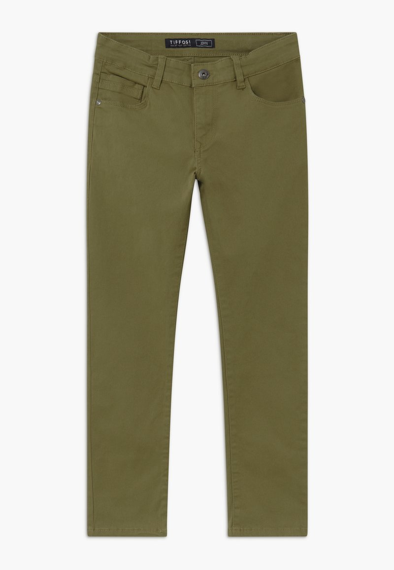 Tiffosi - JOHN - Džíny Slim Fit - green
