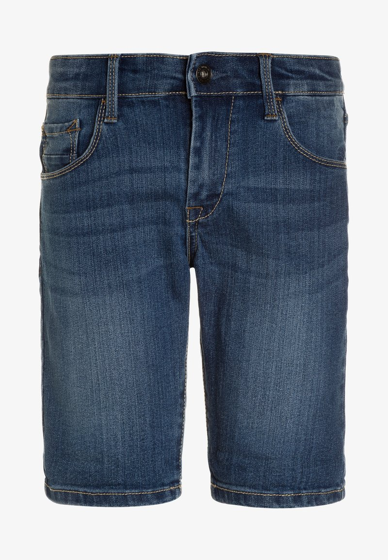 Tiffosi - JOE - Jeans Shorts - blue denim
