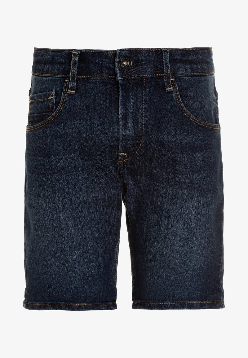 Tiffosi - JOE - Shorts vaqueros - dark-blue denim