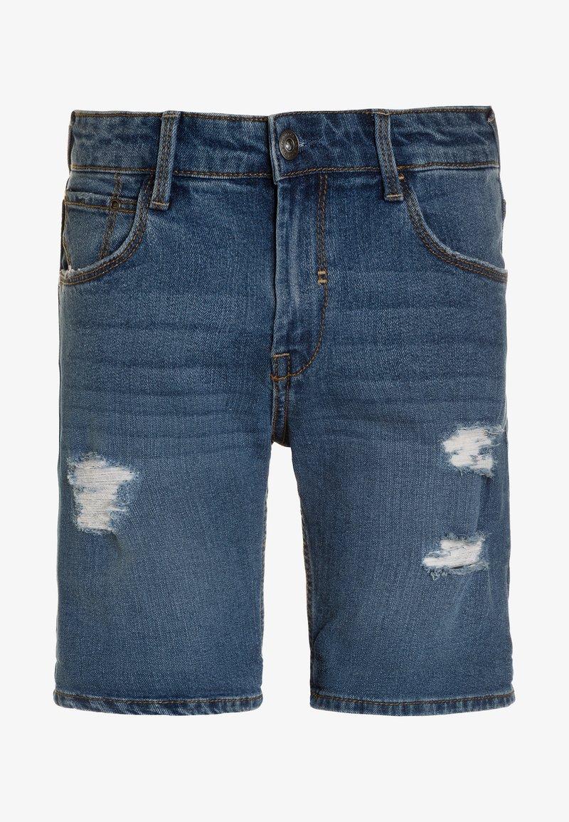 Tiffosi - ZAC - Short en jean - light-blue denim