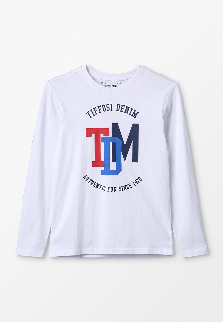 Tiffosi - ESTORIL - Langarmshirt - branco