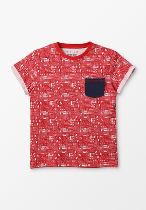 CHILI - Print T-shirt - vermelho
