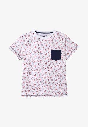 BOARDS - T-shirt med print - vermelho